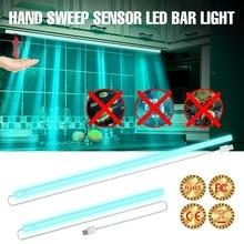 Lampe de désinfection UV 5V 50 40 30 20CM, ampoule germicide ultraviolette USB, balayage à main, lumière de détection UVC, lampe à Ozone