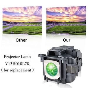 Image 2 - ELPLP78 / V13H010L78 için yedek projektör lambası Epson PowerLite HC 2000 / HC 2030 / PowerLite HC 725HD/ HC 730HD mutlu BATE