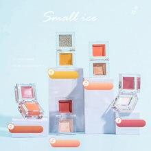 Креативный Маленький ледяной куб яркие румяна долговечный макияж