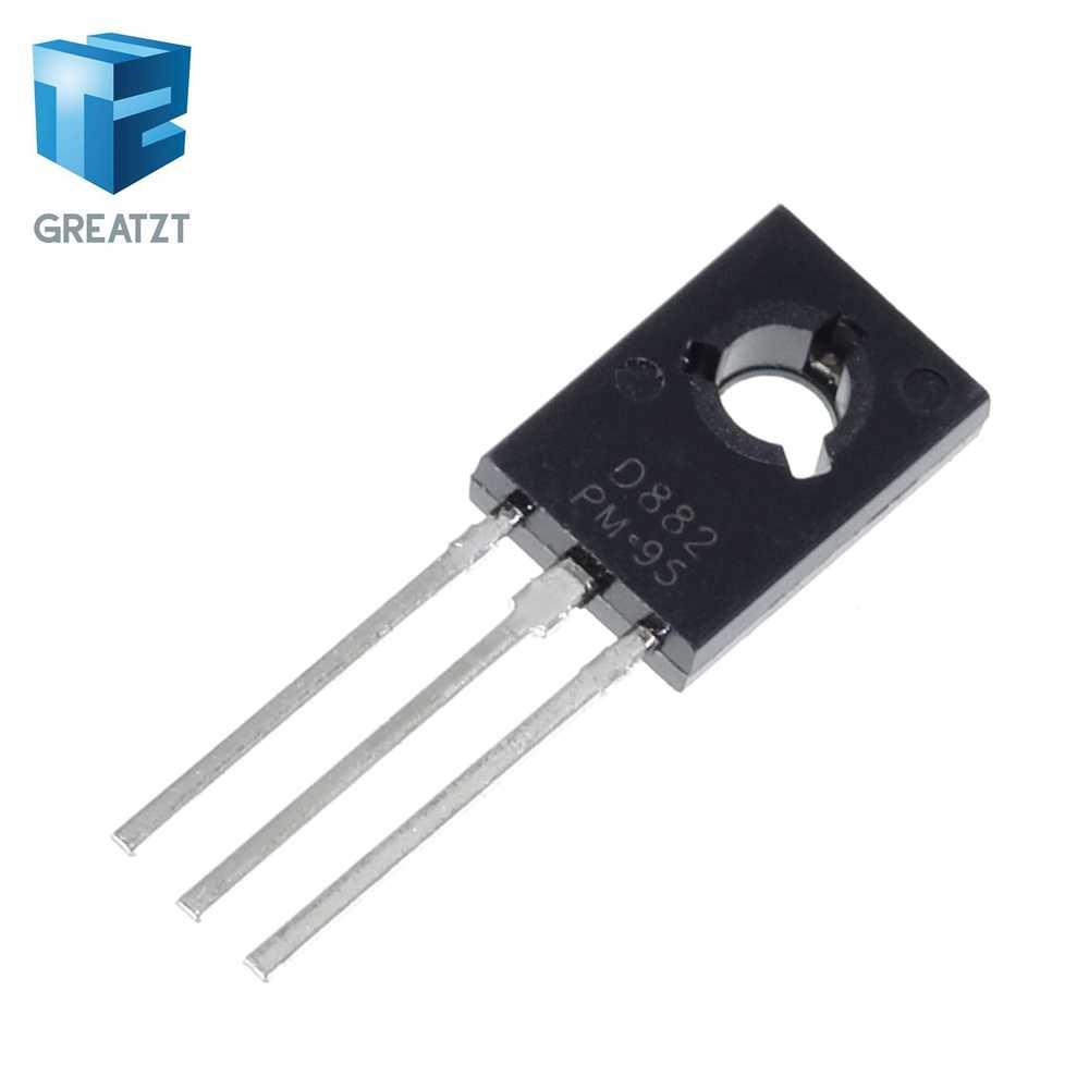 Greatzt 10 Stks/partij Triode Transistor D882 2SD882 3A/40V To-126 Npn Power Triode Nieuwe Originele