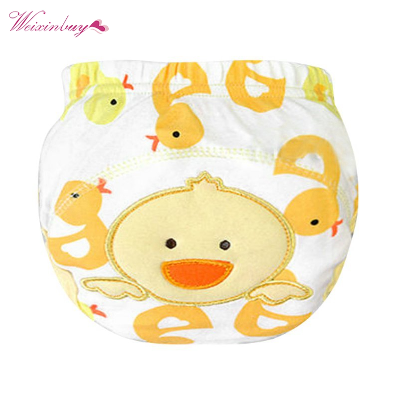 Baby Soft Cotton Panties Briefs Boy Girls Diaper Cover Nappies Kids Training PP Pants