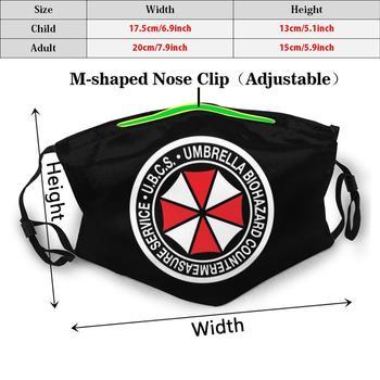 Ubcs Standard Patch Adult Kids Anti Dust Filter Diy Mask Re3 Remake Ubcs Umbrella Corporation Nemesis Biohazard Raccoon City 1