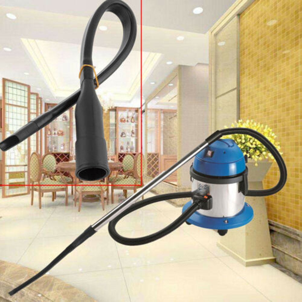 Universal 32mm Vacuum Cleaner Long Flat Nozzle Suction Flexible Hose Tube For People To Reach Sofa Cleaning