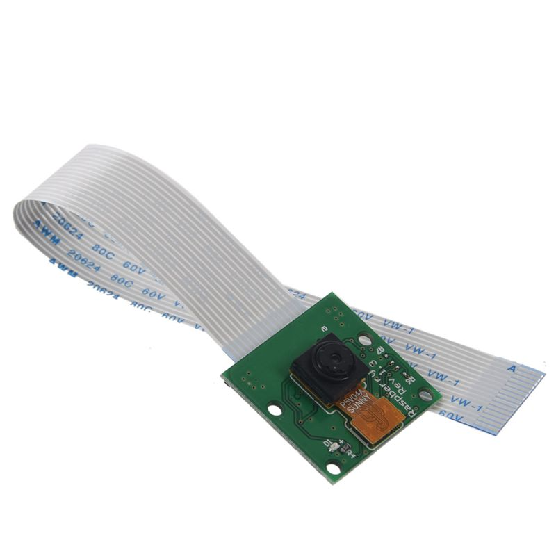 Camera Module Board 5MP Webcam Video 1080p 720p For Raspberry Pi 3 Green