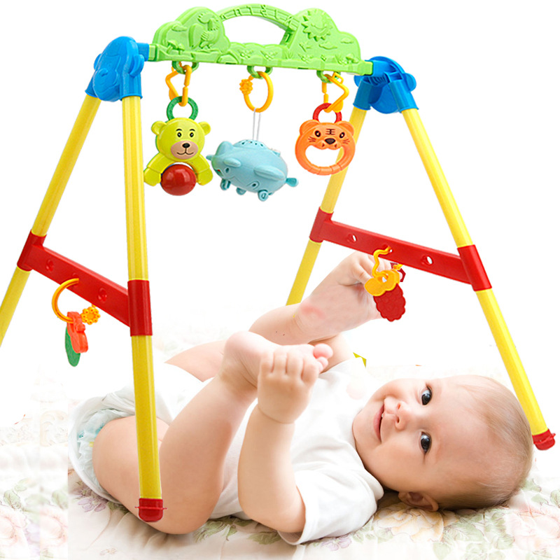 Month Toy Educational Fitness Frame Maker 0-3-6-12 Infant Music GIRL'S And BOY'S Newborn Non-Baby Plastic