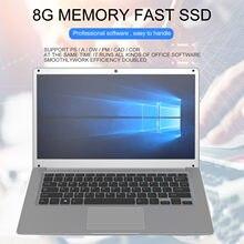 Intel J3455 4000mAh tablette ordinateur portable 14