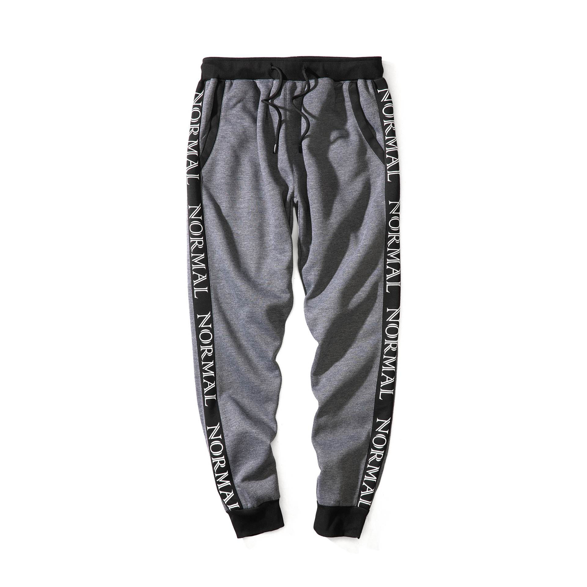 2019 Autumn And Winter New Style Casual Pants Athletic Pants Men's Men Loose-Fit Lace-up Trousers Men's Loose Waist Youth Trend