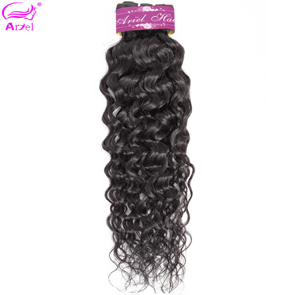 Water Wave Bundles Peruvian Bundles 28 30 Inch Bundles Remy Hair Weave Bundles 100% Human Hair Bundles Hair Extension Ariel