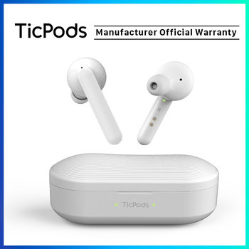 TicPods Free True Wireless Bluetooth  Earbuds In-ear Detection 18 Hour Battery Life Fast Charging IPX5 Waterproof Touch Control