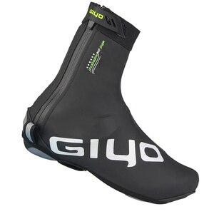 Image 3 - Housse de protection imperméable, en laine polaire, coupe vent, réfléchissante, pour le cyclisme sur route, chaussure de protection