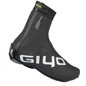 Image 3 - กันน้ำ Windproof อบอุ่นขี่จักรยานล็อครองเท้าสะท้อนแสงจักรยาน Overshoes ฤดูหนาวจักรยานรองเท้า COVER Protector