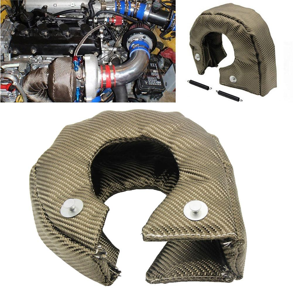 <font><b>T3</b></font> T25 Car <font><b>Turbo</b></font> Protection <font><b>Blanket</b></font> Heat Shield Barrier Turbocharger Wrap Cover image