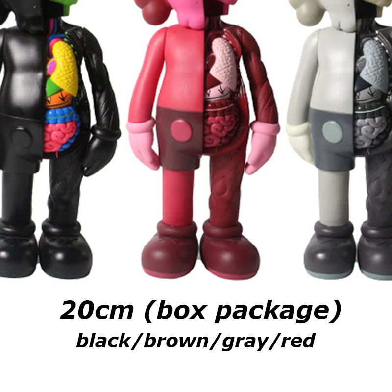 Горячая Распродажа 20 см анализировать KAW фигурки анатомии виниловые куклы ПВХ Куклы Коллекционные модели игрушки