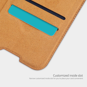 Image 3 - Nillkin צ ין ספר Flip עור Case כיסוי עבור Huawei P40 לייט נובה 7i נובה 6 SE