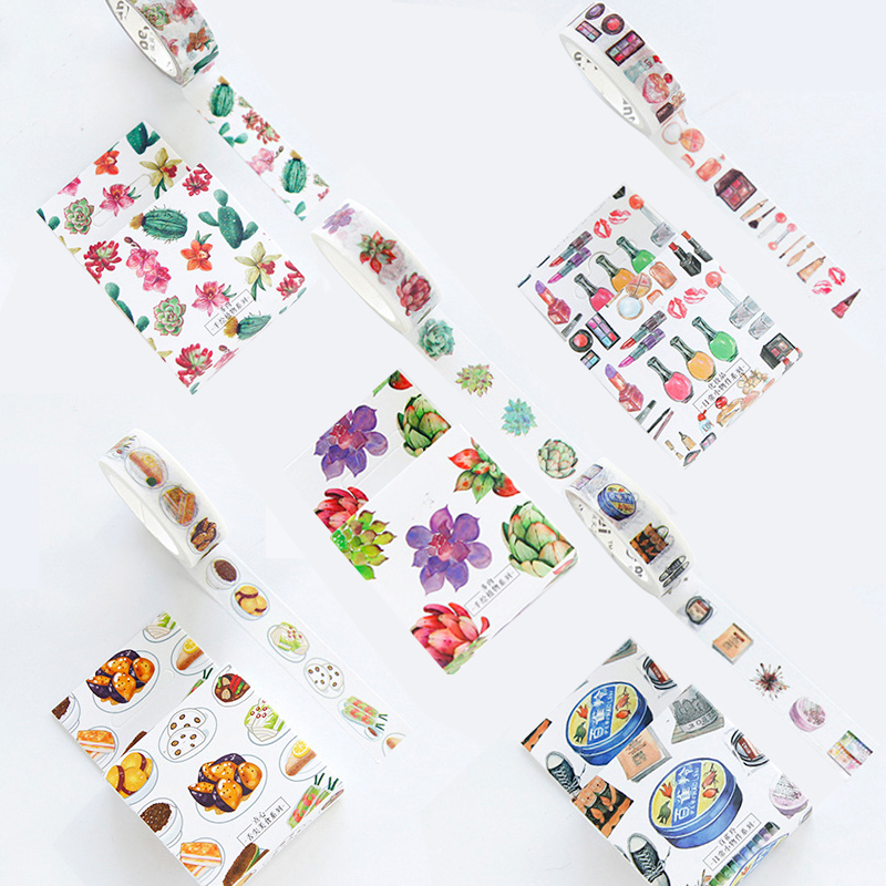 The Harvest of Autumn Decorative Flower Fall Washi Tape DIY Scrapbooking Masking Tape School Office Supply Escolar Papelaria