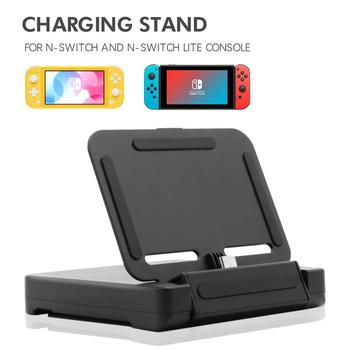 Charging Dock for Nintendo Switch Lite, Charge Stand for Nintend Switch Lite and Switch with 2 Game Slots and 1 USB Type C Cable