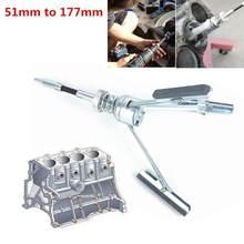 Cilindro de freno de motor de coche, herramienta de pulido, eje Flexible, 51-177mm, J6K9