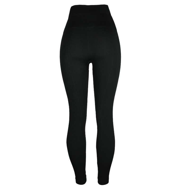 New Warm And Deodorant Thickening Leggings High Waist Slim Hips Breathable High Elastic Casual Nine Points Leggings
