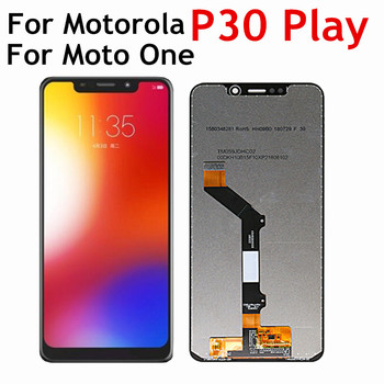 5.9 For Motorola Moto One P30 Play LCD XT1941-1 XT1941-3 XT1941-4 Display+Touch Screen Digitizer Assembly for Moto P30 Play LCD image