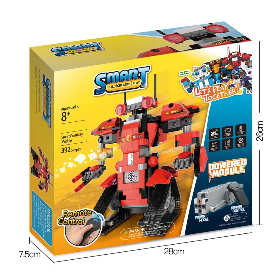 Creative Technic Robot BOOST RC Intelligent Robot Building Blocks Technic Remote Control Robot Bricks Toys For Boys