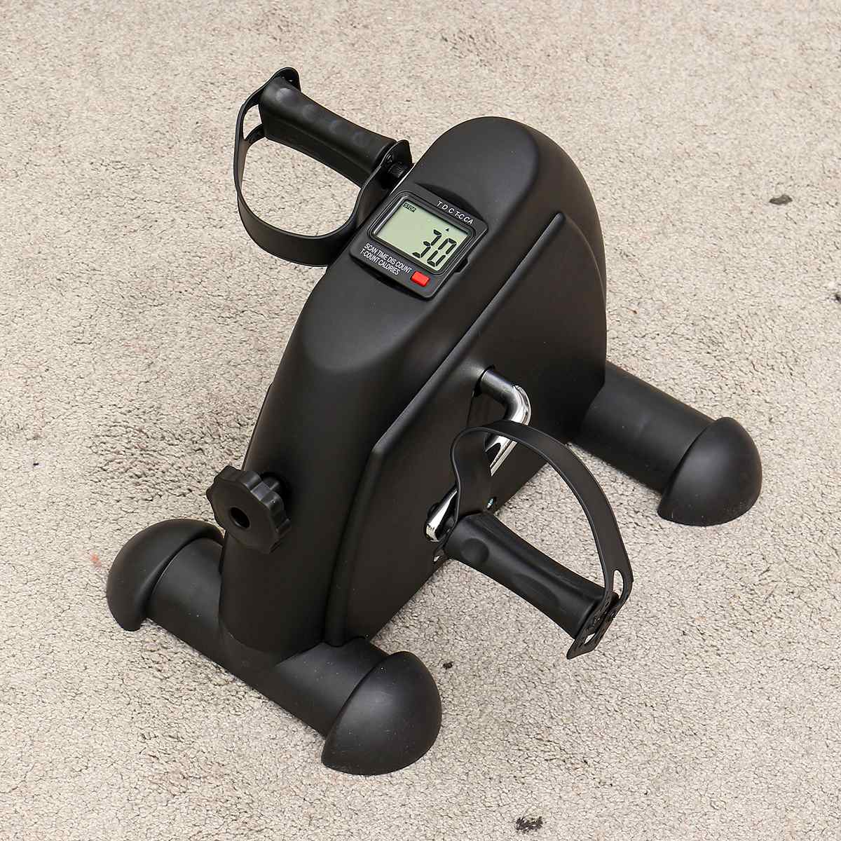 Affichage LCD Mini pédale exercice vélo formateur Cycle intérieur vélo vélos Stepper maison gymnastique Fitness outils bras/jambe physiothérapie - 2