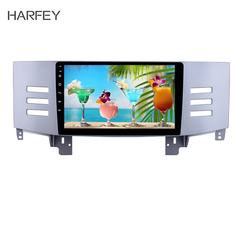 Harfey Android 8.1 2din 9inch Car multimedia player For 2005 2009 Toyota Old REIZ Head unit GPS Navigation Support Backup camera