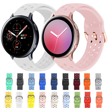 stainless steel bands for samsung galaxy watch s5 42mm 46mm watchbands gear sport s2 s3 s4 milanese loop magnetic buckle strap Silicone Strap for Samsung Galaxy Watch Active 2 40mm 44mm Gear S3 S2 Sport Wrist Watchband for Samsung Galaxy Watch 42mm 46mm