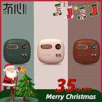 Maoxin hand warmer power bank electronic retro powerbank mini powerbank for huaweiPhone 6 7 8 X hand warmers rechargeable