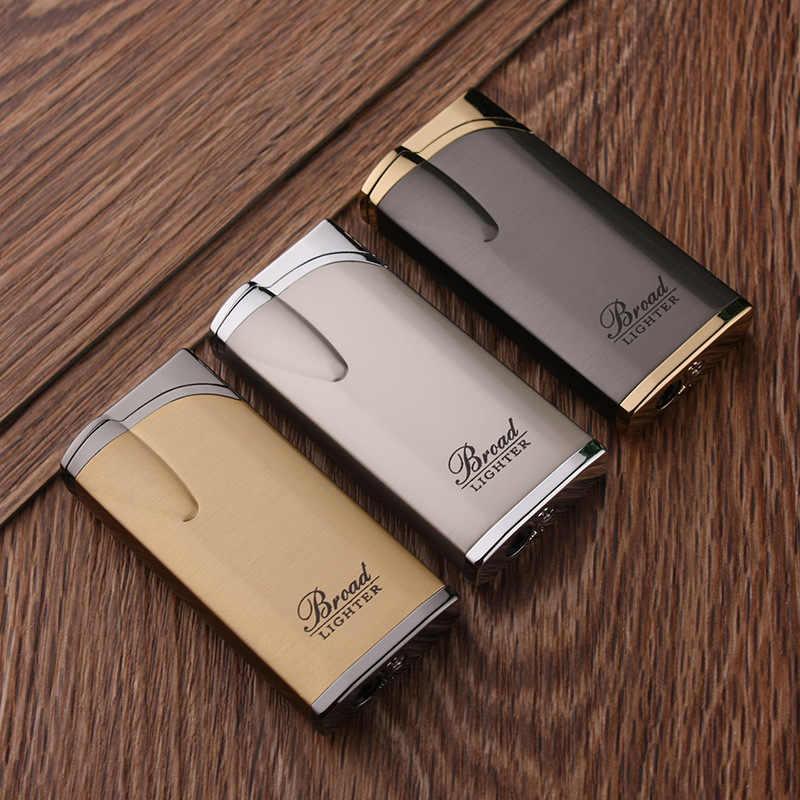 חדש בוטאן לפיד טורבו מצית מתכת סיגר גז מצית סיגריות 1300 C Windproof מצית עישון אביזרי Creative מצית