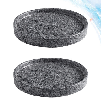 2 szt Doniczka taca ceramiczna konstrukcja cementu doniczka podstawa doniczka doniczka do ogrodu tanie i dobre opinie CN (pochodzenie)