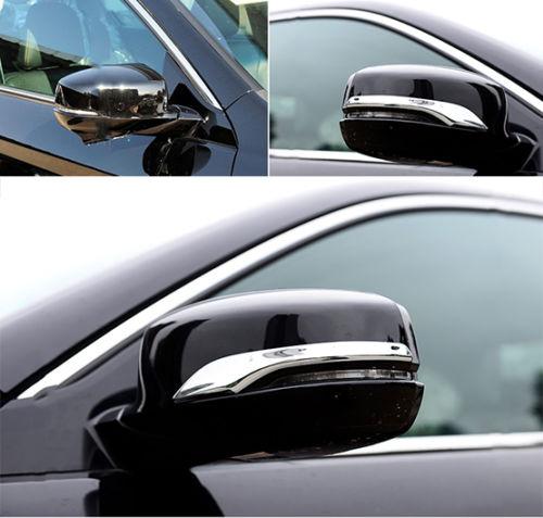 Подходит для бокового зеркала заднего вида HONDA ACCORD, хромированная крышка, облицовка 2013 2014 2015 2016 LF1
