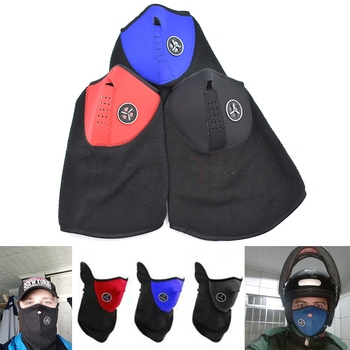 Motorcycle Face Mask Face Shield Biker for HONDA VTR1000F FIRESTORM CBR125R CBR300R CB300F FA CRF250L image