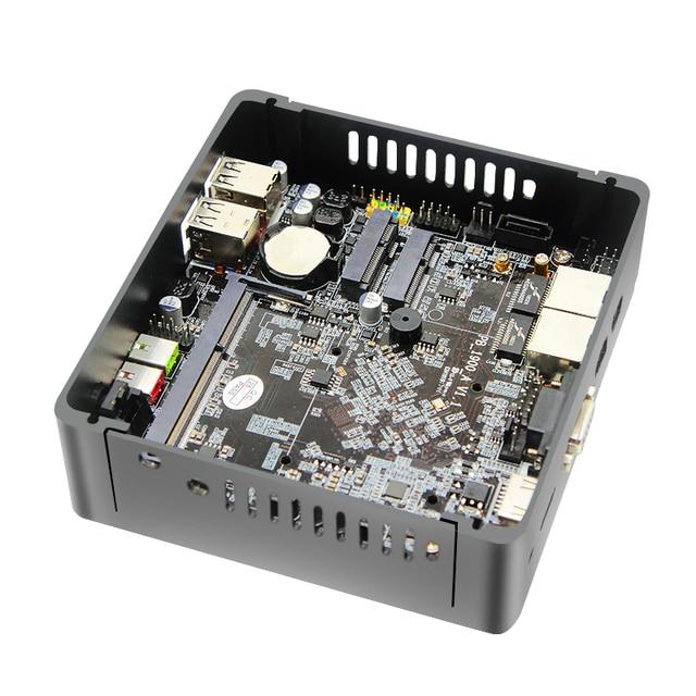 MSECORE J1800/J1900 Fanless Mini PC Windows 10 industrial computer linux 2*Gigabit LAN Intel Celeron Quad-Core HD 300M WiFi