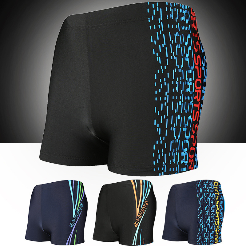 Beach Shorts Swimming Trunks Boxer Loose-Fit Quick-Dry Adult Ultra-stretch Soft And Comfortable Swimming Trunks Yk20183
