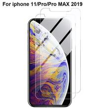купить 2.5D Clear Tempered Glass For iPhone 11 Pro Max 2019 Protection Screen Protector Guard Film For iPhone 11Pro Max Protective film дешево