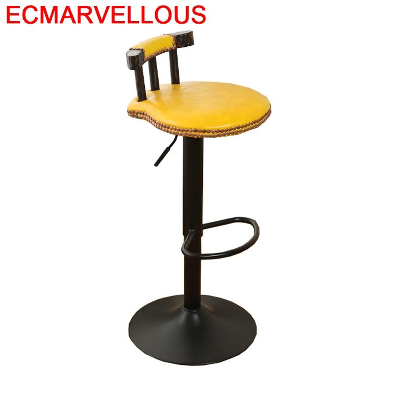 Todos Tipos Sgabello Hokery Stoel Comptoir Stuhl Banqueta Cadeira Leather Silla Tabouret De Moderne Stool Modern Bar Chair