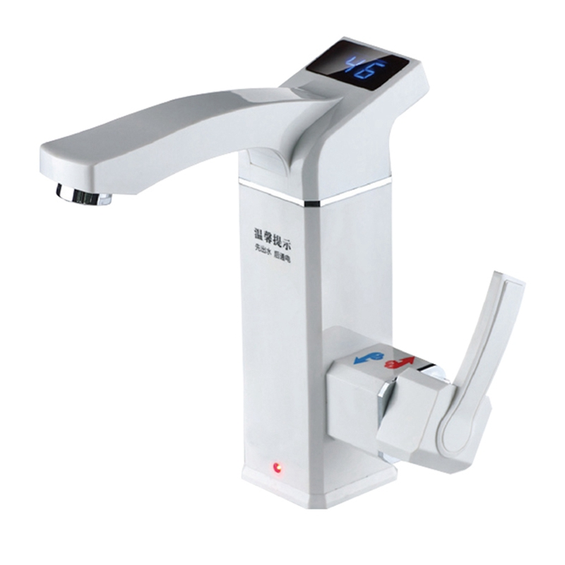 Electric Instant Water Heater Tap Instant Hot Water Faucet Heater Tankless Heating Bathroom Kitchen Faucet Tankless Water Heater