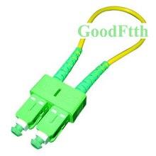 Fiber Optic Loopback Loop Back  Patch Cord SC/APC SM GoodFtth  10pcs/lot