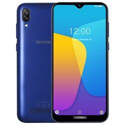 Смартфон DOOGEE X90, 6,1-дюймовый LTPS экран 19:9 Waterdrop, четырёхъядерный, 16 Гб ПЗУ, 3400 мАч, две SIM-карты, 8 Мп + 5 МП, WCDMA, Android Go, мобильный телефон