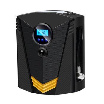 ポータブルカーエアコンコンプレッサーデジタルタイヤインフレータ空気ポンプ 150 Psi 自動空気ポンプ自動車オートバイ Led ライトタイヤポンプ
