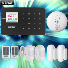 KERUI Home Security Alarm System APP Control SMS Motion Detector Sensor Door Sensor Burglar Signal Device Wireless GSM Smart Kit