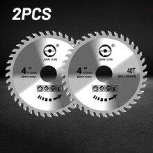 1pc/2 stücke 4 Zoll 110mm Sah Disc 40T Kreissäge Klinge Trennscheibe Für Aluminium stahl Metall Holz Trennscheibe Für Winkel Grinder
