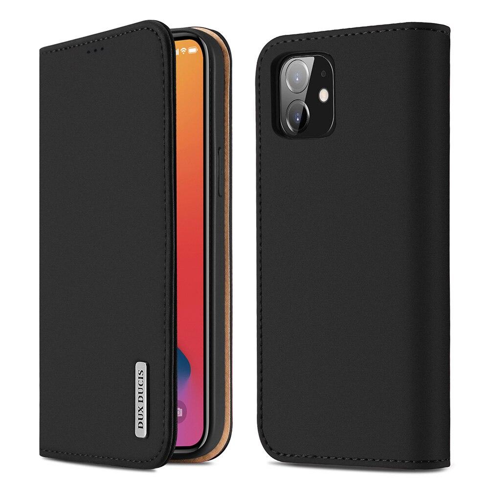 Роскошный чехол-кошелек DUX DUCIS из натуральной кожи для iPhone 12 11 Pro 11Pro Max X XS Max XR 6s 7 8 Plus, чехол для телефона с держателем для карт