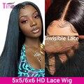 Парик Tinashe из человеческих волос на сетке, 13x6, бразильские прямые парики на сетке спереди, парик на сетке 4x4 6x6, парик из человеческих волос 28 и...