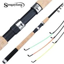 Sougayilang Feeder Fishing Rod Telescopic Spinning Casting T