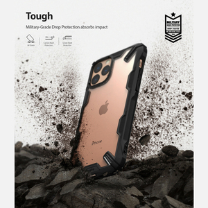 Image 5 - Чехол Ringke Fusion X для iPhone 11 Pro с усиленной амортизацией, прозрачный жесткий чехол из мягкого ТПУ с задней частью