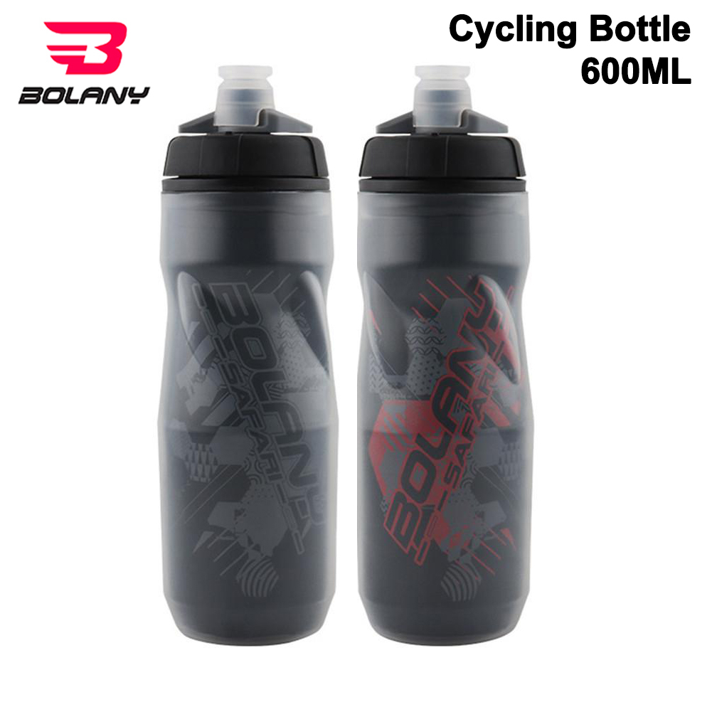 Bolany Bicycle Water Bottle 600ml Light Mountain Bottle PP5 Heat - And Ice-protected Outdoor Sports Cup Cycling Equipment