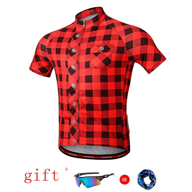 Image 4 - Moxilyn Brand Cycling Jersey Top Short Sleeve Summer Men's Shirt Quick Dry Breathable Bicycle Wear Racing Bike Cycling Clothing-in Cycling Jerseys from Sports & Entertainment