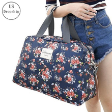 Women Travel Bags Luggage Organizers High Capacity Portable Folding Items Clothes Bag