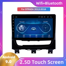 Android 9 For Fiat Strada 2012 2013 2014 2015 2016 Large Screen Google Android Car Multimedia Player Car Radio Player Stereo(China)